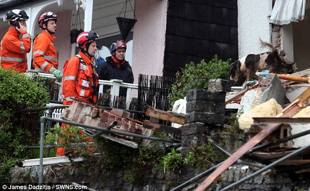 Warning: Susan Norman had previously expressed fears that her home was in danger of collapsing