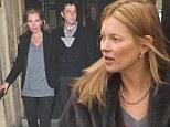 Kate Moss and husband Jamie Hince at Royal Albert Hall
