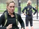 Keep on running: BBC newsreader Sophie Raworth steps up her London marathon training