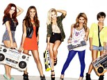 Chart-toppers: The Saturdays (L-R) Una Healy, Rochelle Humes, Mollie King, Vanessa White and Frankie Sandford, are hoping to score their first UK number one this weekend with What About Us