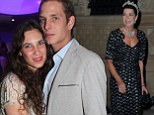 Princess Caroline of Monaco is a grandmother after son Andrea's fiancée Tatiana welcomes a baby boy