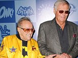 Batman's mechanic! Adam West is reunited with Batmobile maker George Barris at TV show party
