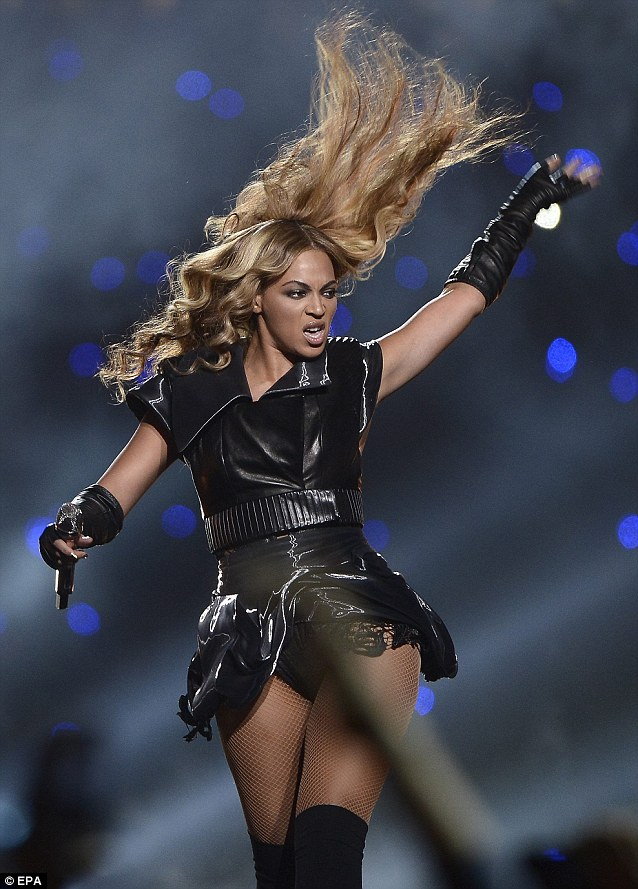 Just like Bey: Much like her on stage alter ego Sasha Fierce, the part channels her confident and powerful side