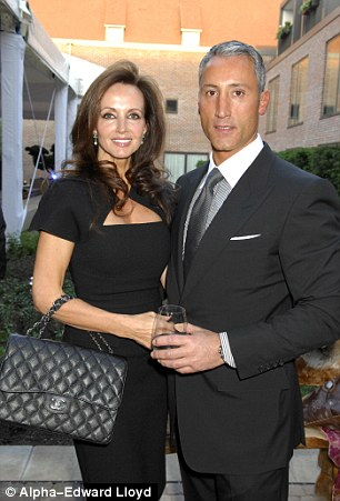 Andreas Panayiotou with his wife Susan at the Syon Park Waldorf Astoria Launch Party