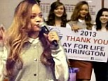 Good girl gone bad! Rihanna holds up 2,000 Chicago school children for more than three hours