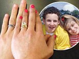 'Cory and Topanga... together again': Danielle Fishel Tweets picture of Boy Meets World favourites' wedding rings