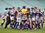 Warwick 12 QEGS Wakefield 6: Schools Rugby Under 15 Cup