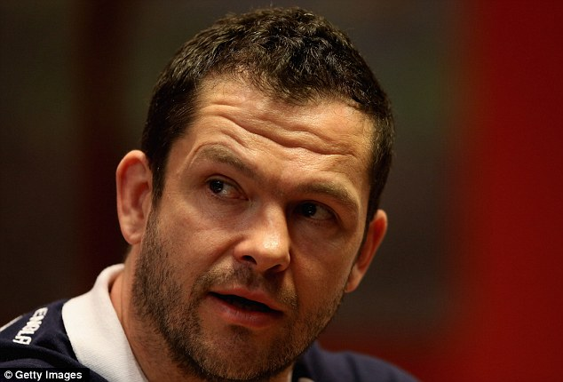 Cover: Andy Farrell will be off to the Lions tour and needs to be replaced