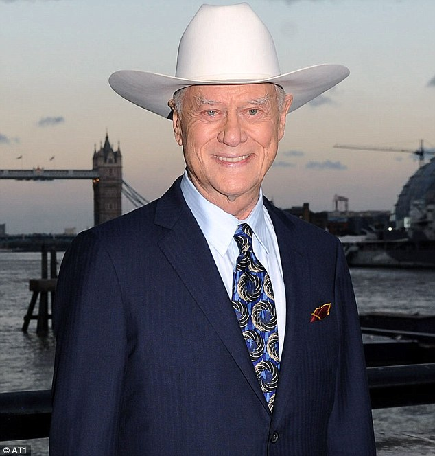 Where he hung his cowboy hat: Larry was so in love with the majestic ranch he named it 'Heaven'