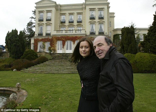 Police investigating the death of Mr Berezovsky (pictured here in 2003), one of Vladimir Putin's fiercest opponents, said there is so far no evidence to suggest any third party involvement in his death