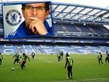 Fabio Capello trains at Chelsea for Russia v Brazil while Luiz Felipe Scolari and Yuri Zhirkov also return