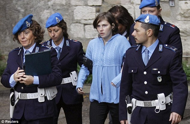 Final hurtle: Amanda Knox, seen here in 2009, faces one last judgement day tomorrow when the Italian Supreme Court considers whether the appeal that freed her should be upheld