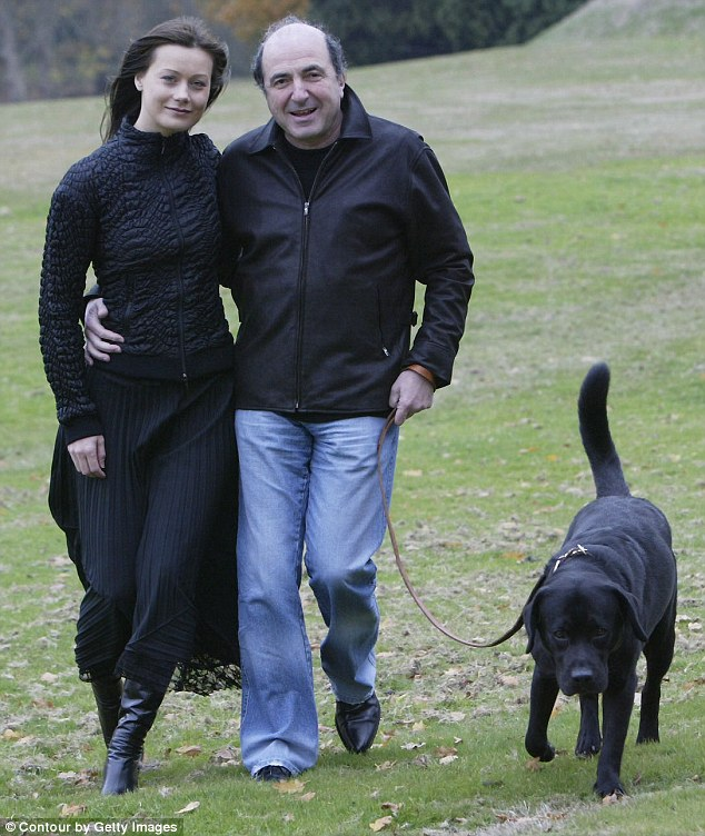 Some friends said they believed Mr Berezovsky, pictured with his former girlfriend Elena Gorbunova, may have been the victim of a professional hit for speaking out against Russian president Vladimir Putin's regime