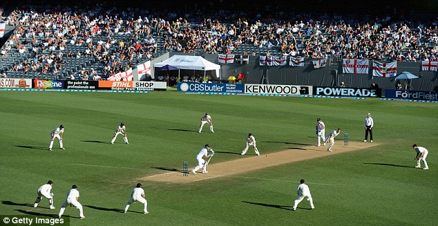 Onwards and upwards: England now face a Test series back home against New Zealand