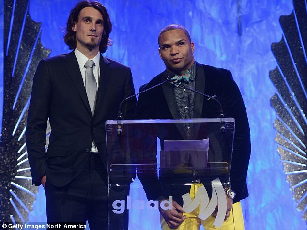 Activists: Minnesota Vikings punter Chris Kluwe, left, and Baltimore Ravens linebacker Brendon Ayanbadejo, right, have emerged as outspoken LGBT advocates in the NFL