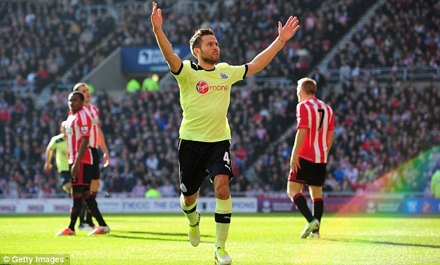 Back to his best: Yohan Cabaye has struggled to recapture his brilliant first year, until now