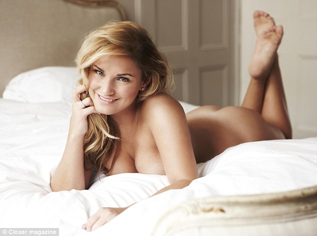 Confident: TOWIE star Sam Faiers has spoken about her body confidence while stripping for a nude shoot in Closer magazine