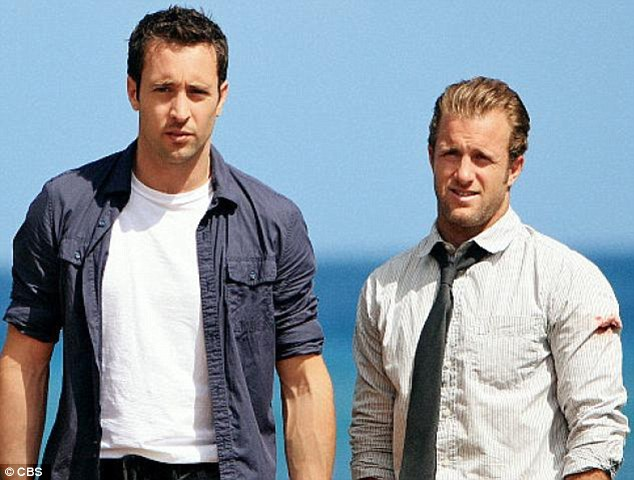 Hawaii Five-O hunks: Scott, who plays 'Danno' to Alex O'Loughlin's Steve McGarrett in the CBS show, later apologised for dissing Hawaii during an appearance on Chelsea Lately in January