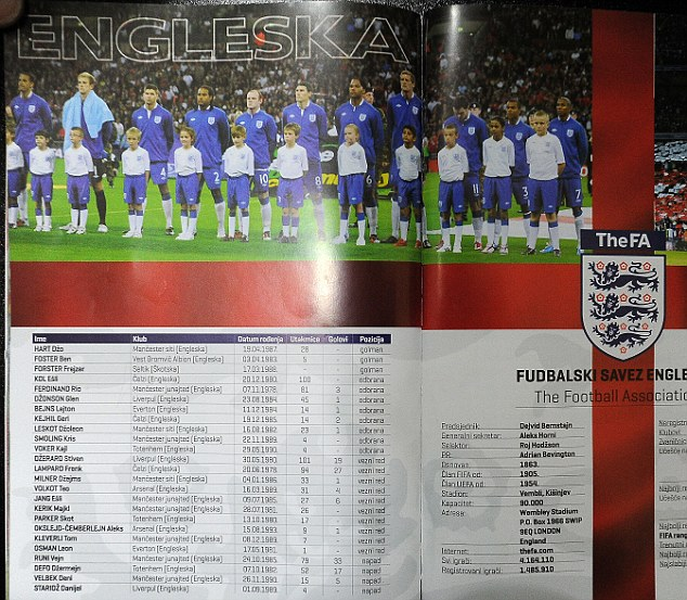 Put a name to the face: England players will have a hard time finding themselves on the team-sheet
