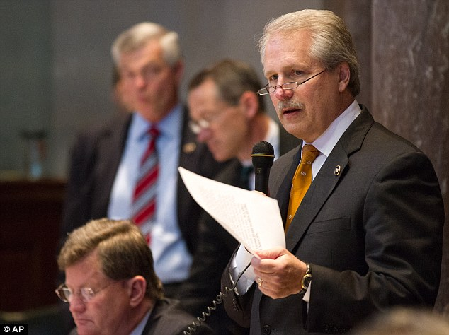 Concerned: Sen. Bill Ketron (pictured) and Rep. Judd Matheny were among those reportedly concerned about the new sink