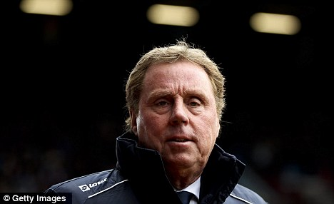 Not included: Harry Redknapp did not put Johnson, who was injured, in his squad