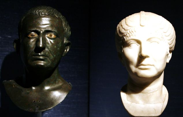 Frozen in time: Bust said to be of Alexander the Great will form part of the exhibition