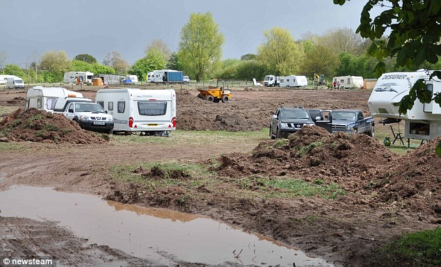 Rural: The travellers must put the site back as it was before they moved in because of the court decision