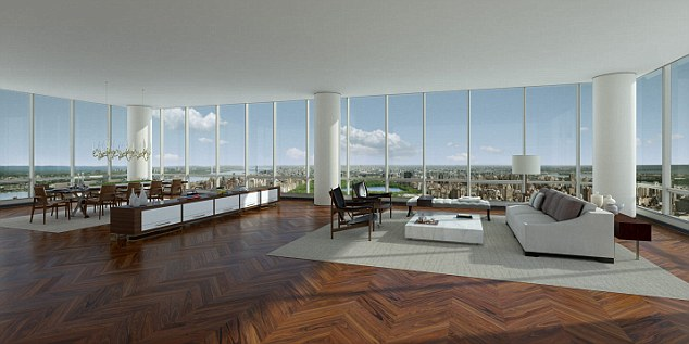 Big spend: A Chinese mother has bought a $6.5 million (£4.3 million) flat in Manhattan for her toddler