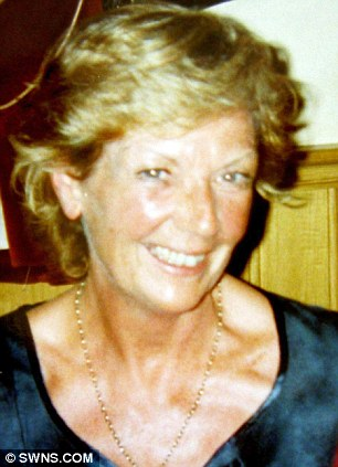 Tragic: Landslide victim Susan Norman died in Looe, Cornwall last Friday having warned her council about the dangers two months ago