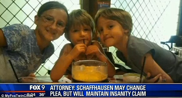 Aaron Schaffhausen allegedly murdered 11-year-old Amara (left), 8-year-old Sophie (right) and 5-year-old Cecilia in July of last year