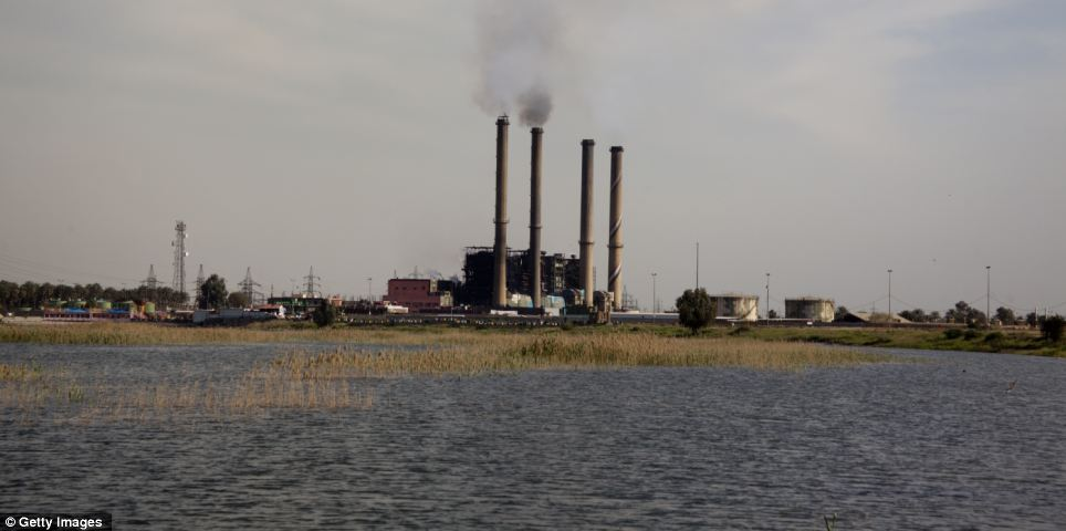 Lack of supply: The Dora power plant in Baghdad. One of the main obstacles to Iraq's ongoing development is reported to be the lack of a regular electricity supply, with Baghdad residents receiving on average of just eight hours of electricity a day