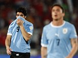 Luis Suarez could be punished by FIFA for punch on Gonzalo Jara