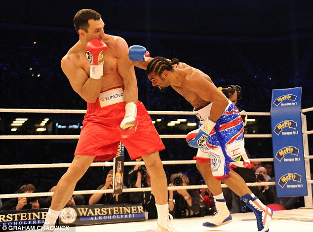 KlitschKO: Haye was easily beaten by Vitali's younger brother Wladimir in July 2011