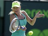 Sony Open 2013: Maria Sharapova beats Sara Errani to reach semi-finals