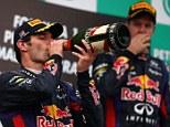 Mark Webber will not leave Red Bull after Sebastian Vettel row, insists Christian Horner
