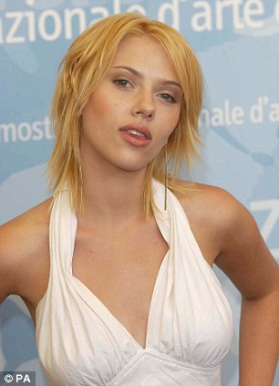 Top contenders: Scarlett Johansson and her infamous mullet as well as Cristiano Ronaldo's 'greasy' hairstyle also gave Rihanna a run for her money