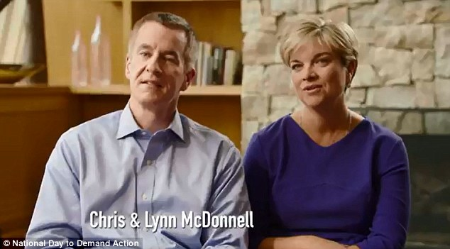 Chris and Lynn McDonnell tell viewers how their daughter Grace loved going to school