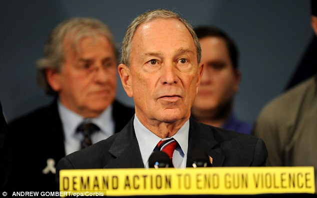 New York City Mayor Michael Bloomberg speaks at a press conference discuss the importance of passing commonsense legislation to reduce gun violence at City Hall in New York on March 21st