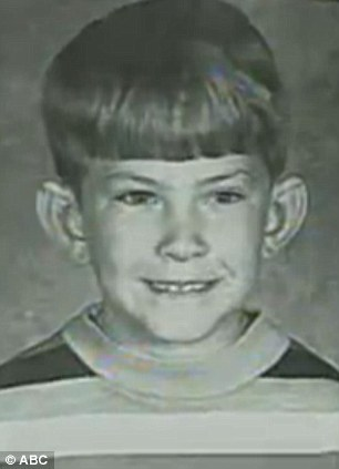 Innocent: He was just seven (pictured) when he was raped by the family friend, who was 17