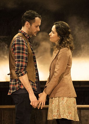 Declan Bennett and Zrinka Cvitesic in Once