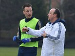John Terry is fit for the run in, claims Rafael Benitez