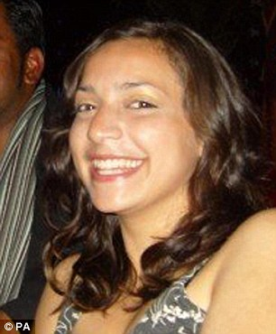 Meredith Kercher, 21, was found semi naked and with her throat cut in her bedroom of the house she shared with Knox in November 2007