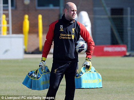 Welcome back: Pepe Reina will return to the Liverpool side to face Aston Villa