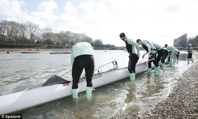 It might not just be the rowers getting their feet wet at tomorrow's race if the tides are as high as they were yesterday