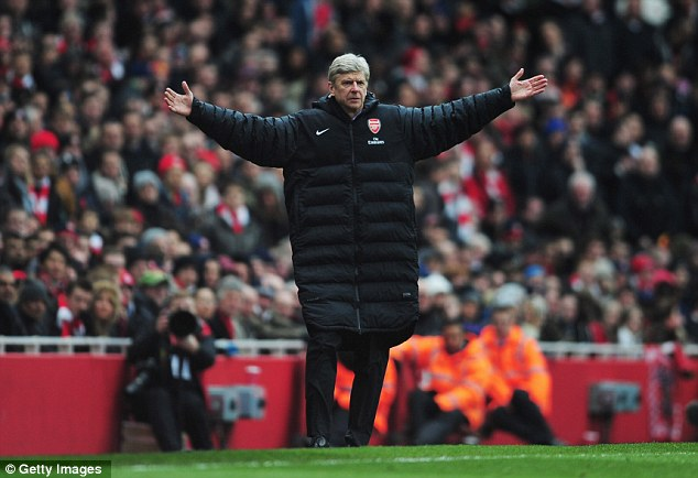 Mind the gap: Arsene Wenger fighting for Champions League qualification