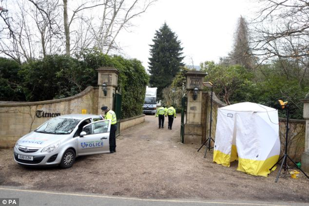 Berezovsky was found hanged at the Ascot home of his ex-wife Galina