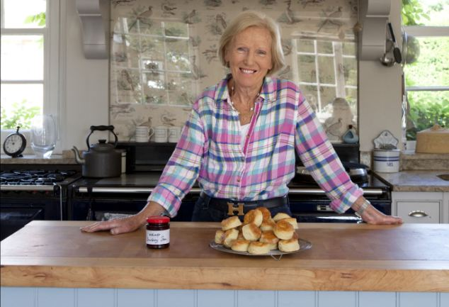 'Oh crumbs': 'Mary Berry would never, ever swear. I know 'I've been to her house twice'