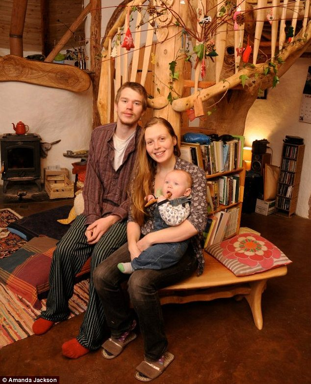 Charlie Hague and Megan Williams, parents of baby Eli, have been ordered to pull down their self-built home by Pembrokeshire Council while planning applications by the rich elsewhere are waved through