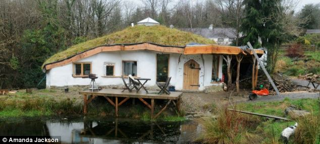 Harmless: But planners have ordered the 'home-made house' in Pembrokeshire to be pulled down