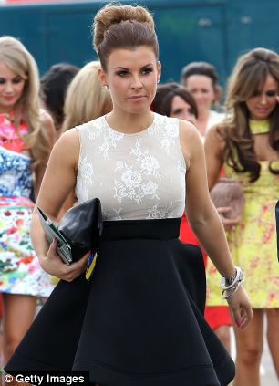 Coleen Rooney criticised the Duchess of Cornwall on Twitter